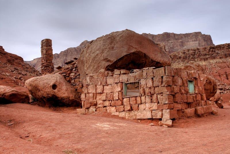 Abandoned Stone House royalty free stock image