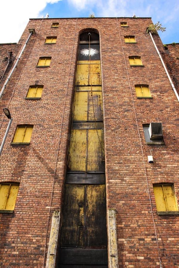 Abandoned storehouse royalty free stock photos