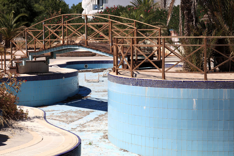 Download Abandoned Swimming Pool Royalty Free Stock Photography - Image: 28013327