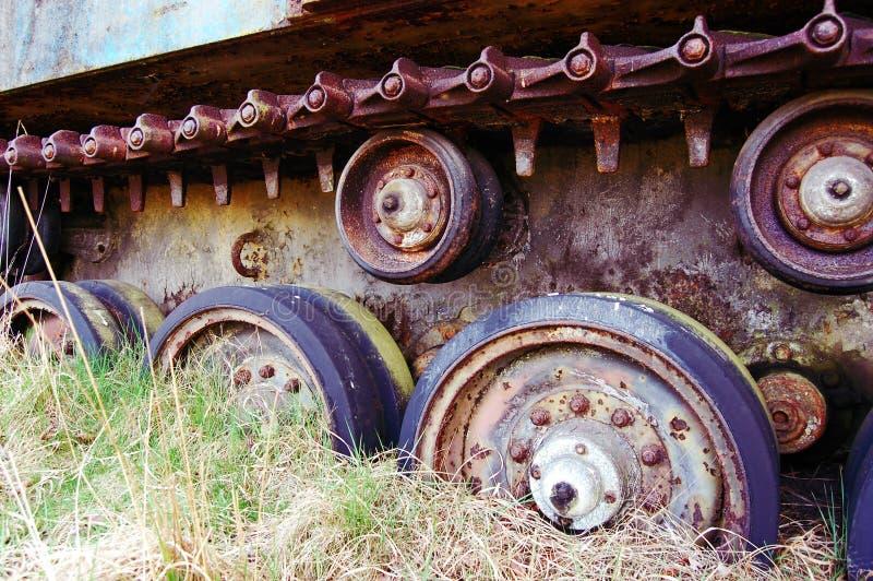 Abandoned Tank royalty free stock image