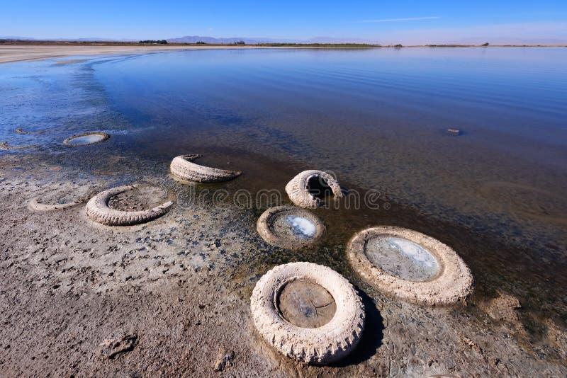 Download Abandoned Tires, Salton Sea Stock Photo - Image: 26314318