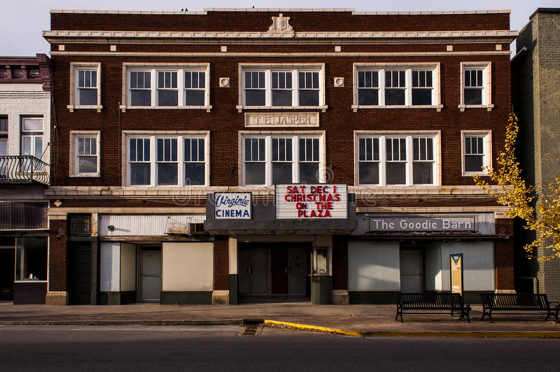 Abandoned Virginia Theater - Kentucky stock images