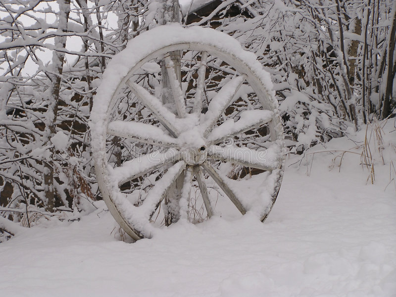 Download Abandoned wagon wheel stock photo. Image of social, wagon - 38284