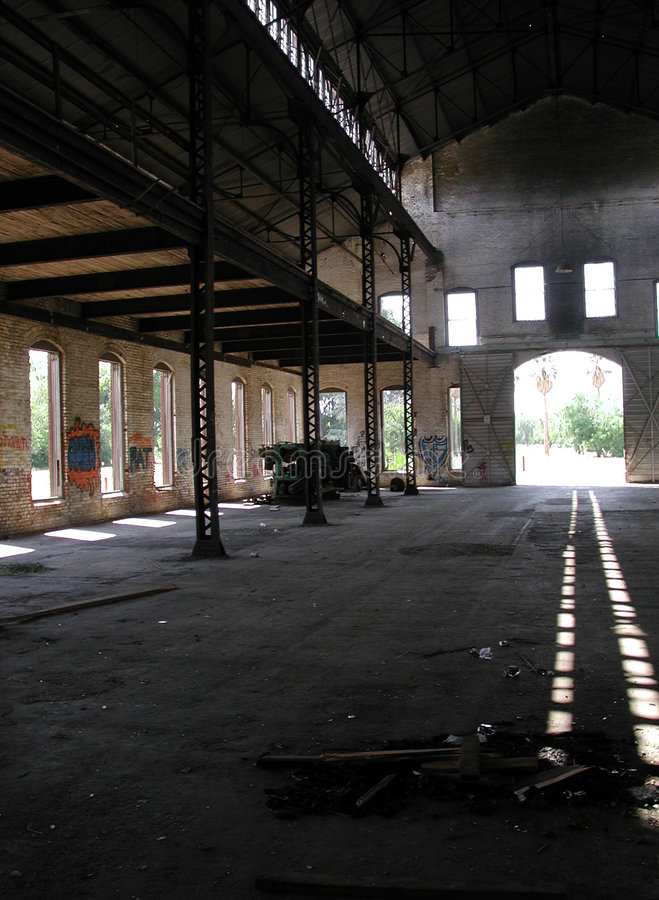 Download Abandoned warehouse stock image. Image of warehouse, factory - 163035