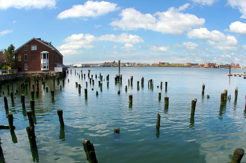 Download Abandoned wharf stock photo. Image of deserted, house, backgrounds - 116474