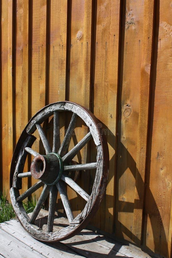 Abandoned wheel stock photo