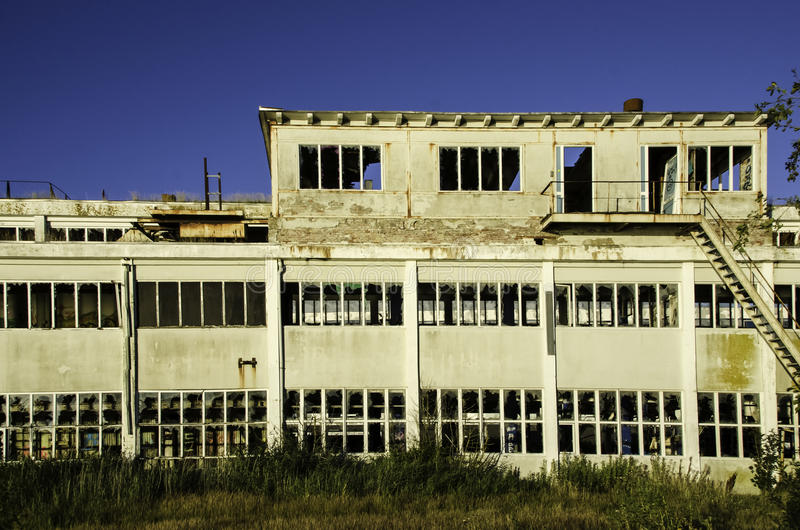 Abandonned factory royalty free stock photography