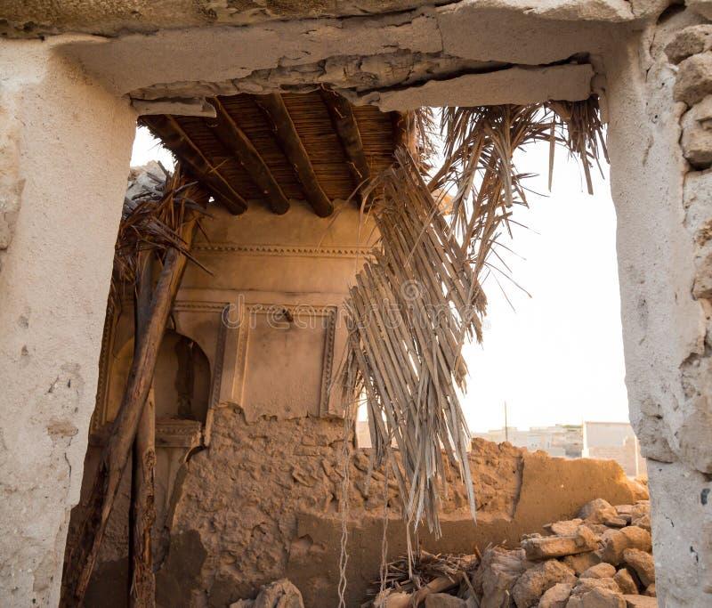 Abandonned Village In Ras Al Khaimah-UAE Editorial Stock