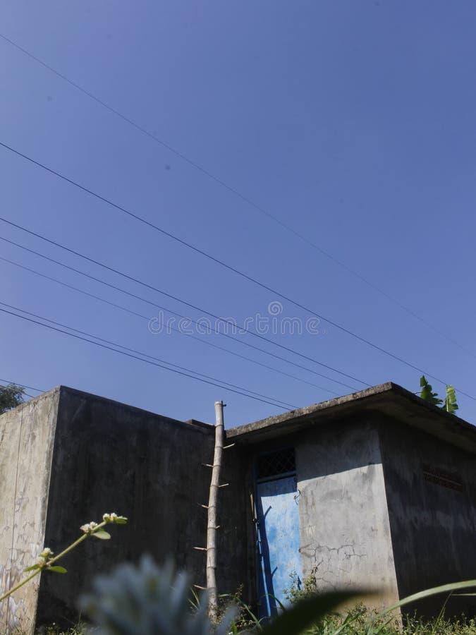 Abandy House mit Minimalstil stockfotografie