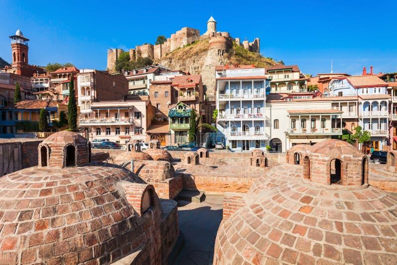 Abanotubani in Tbilisi royalty-vrije stock afbeeldingen