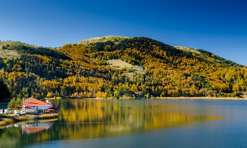 Abant湖在博卢 免版税库存图片