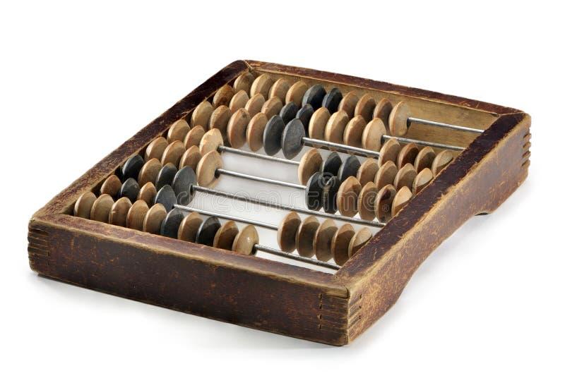 Abaque en bois de vieille poche photographie stock