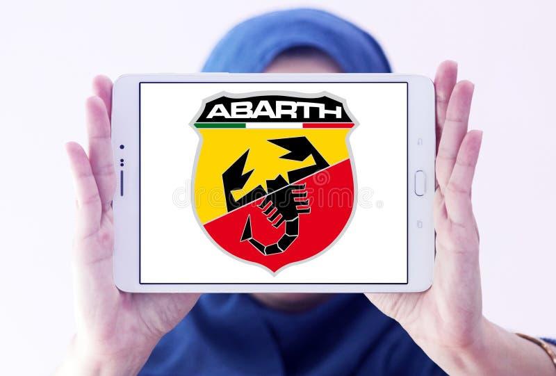 Abarth汽车商标 免版税库存照片