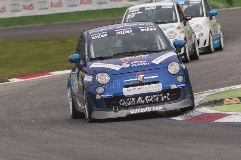 Abarth Italy & Europe Trophy Editorial Stock Image - Image of action