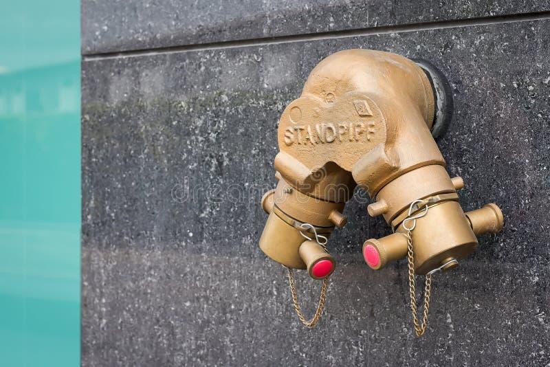 Abastecimiento de agua para la emergencia foto de archivo libre de regalías