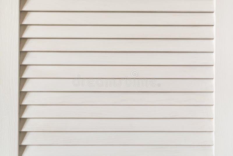 Abat-jour en bois blancs photographie stock libre de droits