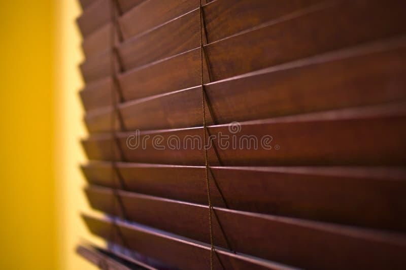 Abat-jour en bois horizontaux images libres de droits