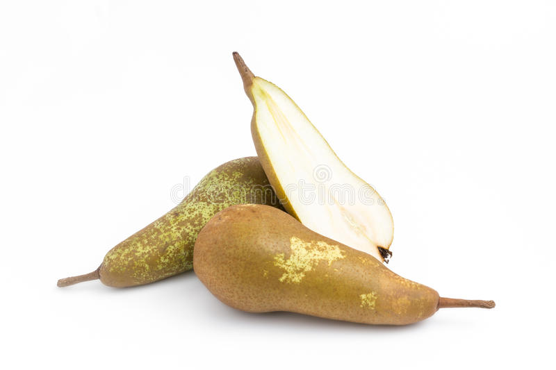 Abate Fetel pears stock image