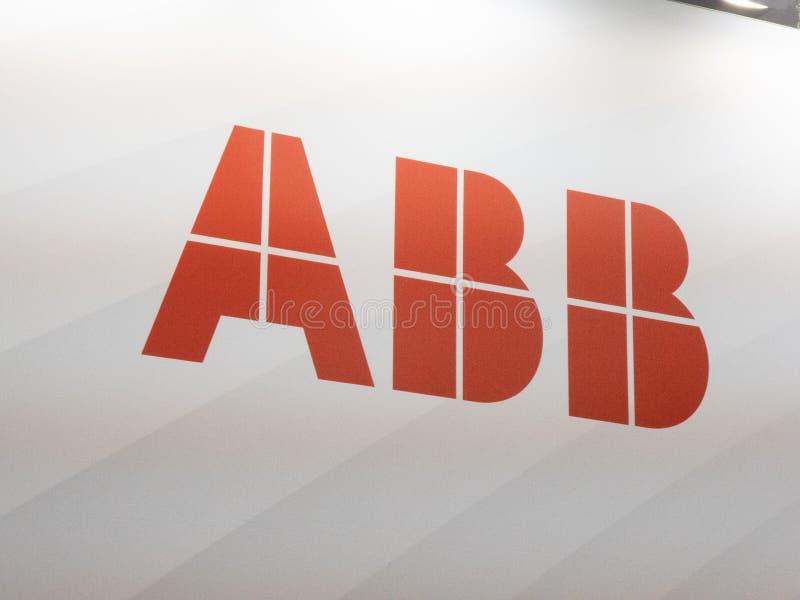 ABB Group logo royalty free stock photos