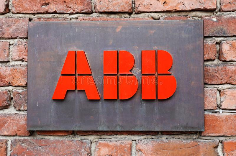 ABB signage royalty free stock images