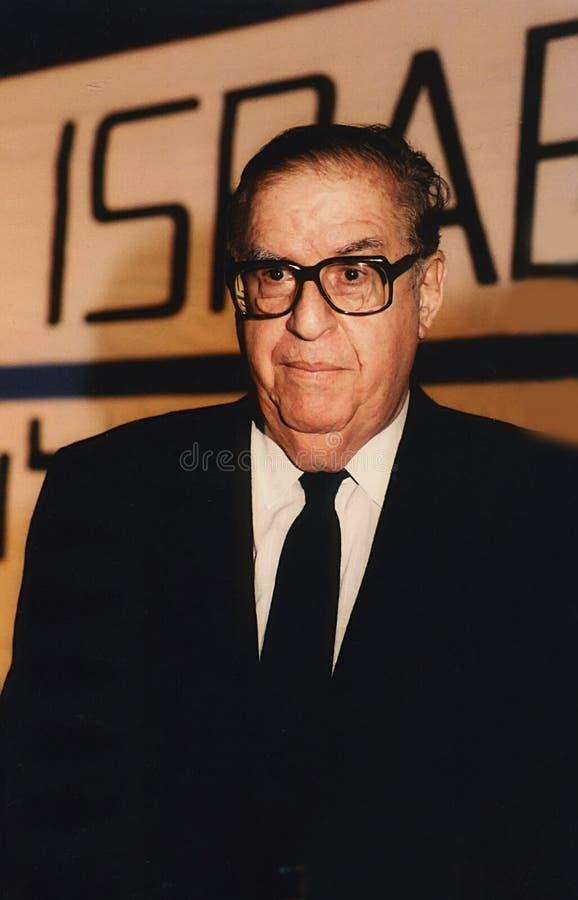 Abba Eban стоковое фото