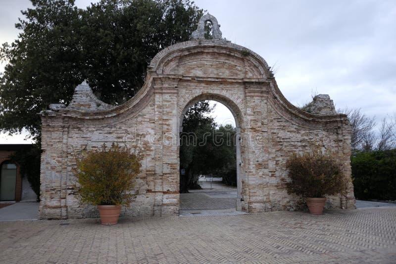 Abbadia St Peter image stock