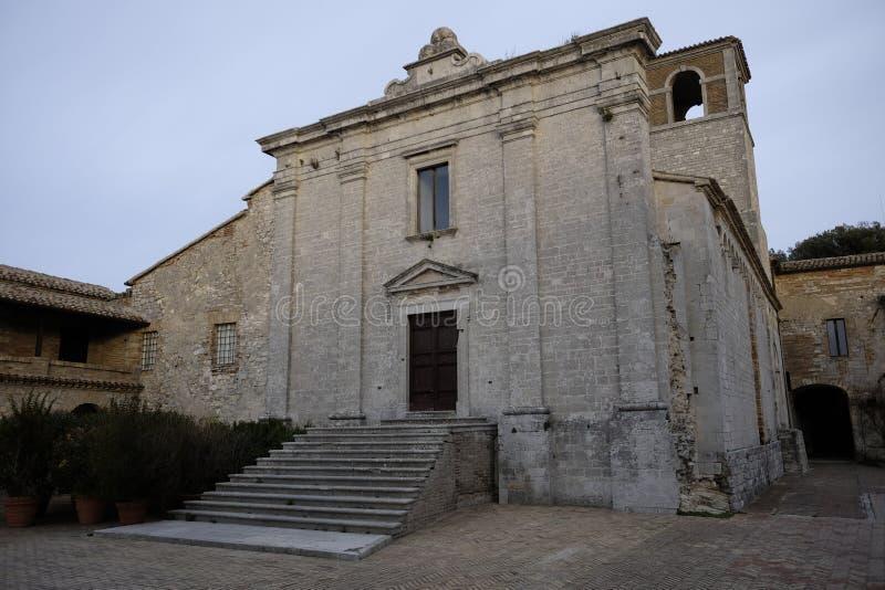 Abbadia St Peter image libre de droits