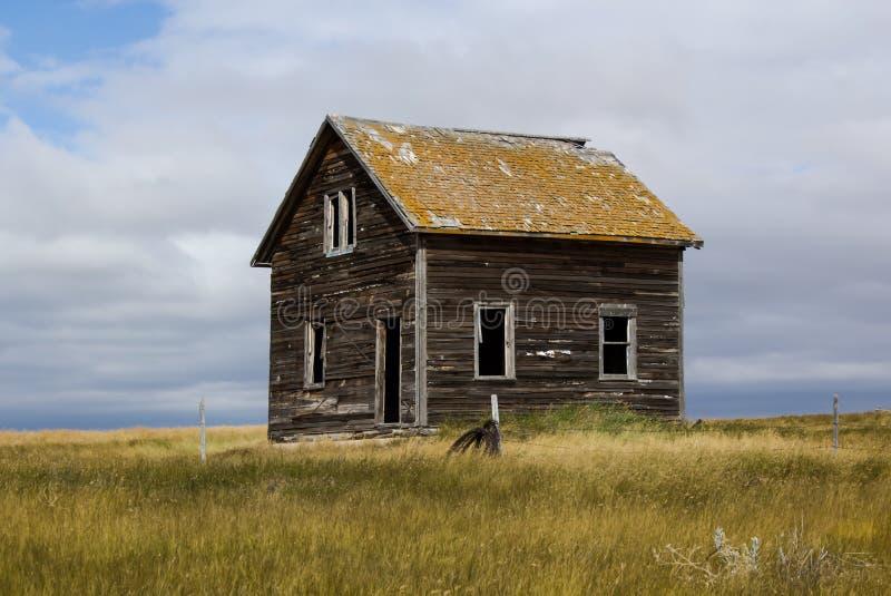 Abbandonato a casa fotografia stock libera da diritti