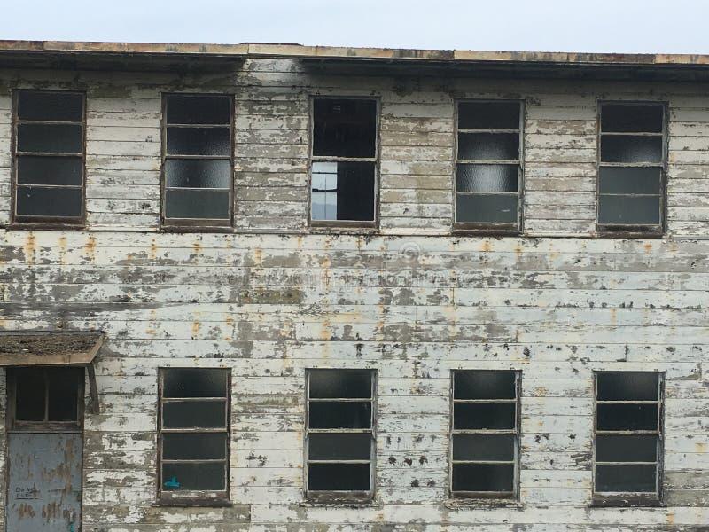 Abbandonato finale rimane di San Francisco Navy Ship Yard, 3 fotografia stock libera da diritti