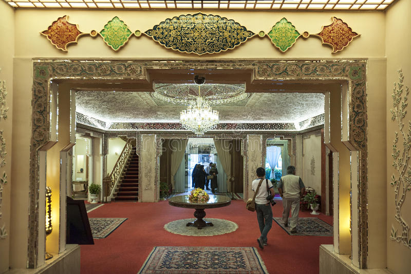 Abbasi hotel in Esfahan royalty free stock image