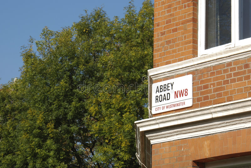 abbay road obrazy stock
