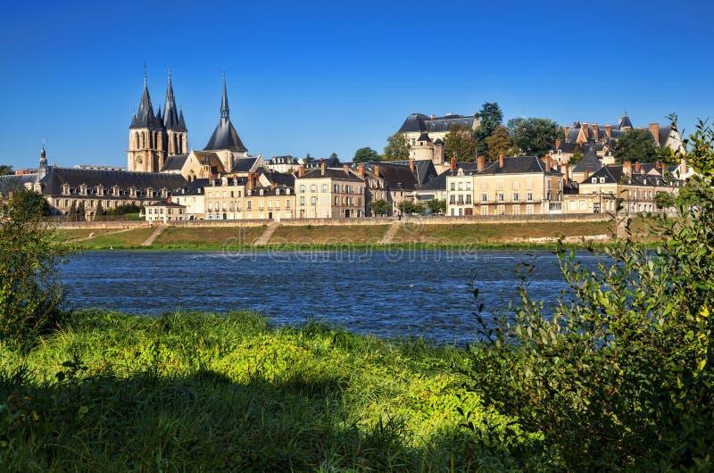 Download Abbaye święty w Blois obraz stock. Obraz złożonej z cityscape - 53785451