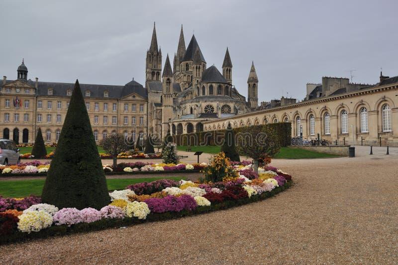 Abbaye-aux.-Hommes photographie stock libre de droits