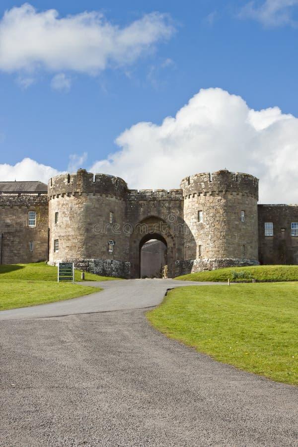 Abbaye célèbre de Glenstal près de limerick, Irlande. photographie stock