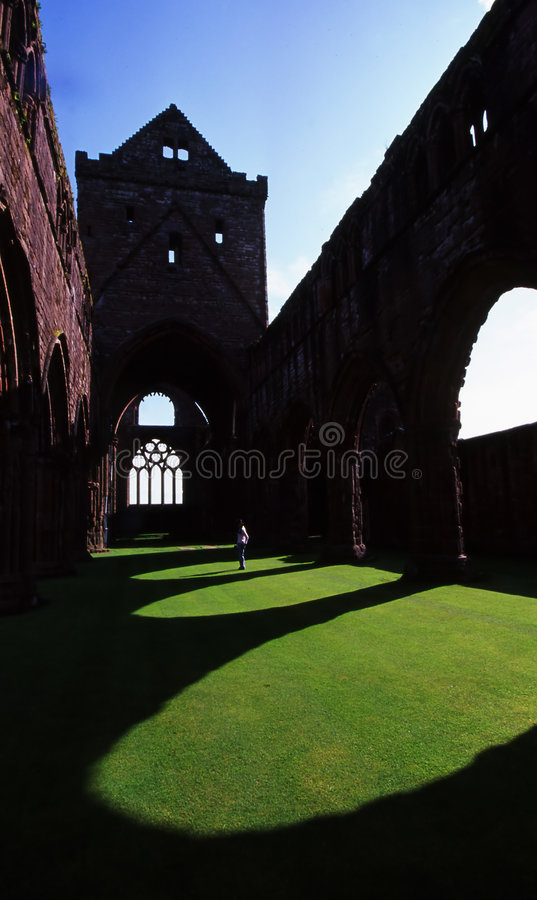 Abbaye d'amoureux image stock