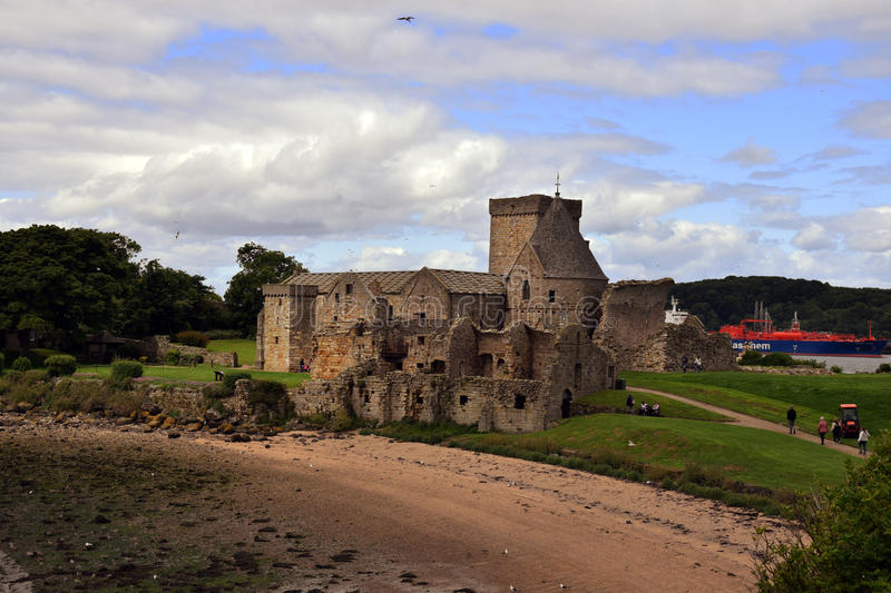 Abbaye d'Inchcolm image stock