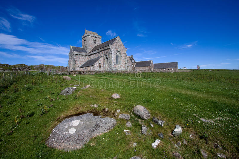Abbaye d'Iona images stock