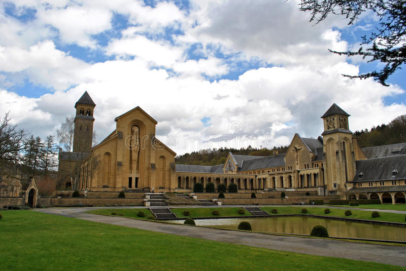 Abbaye d'Orval image stock