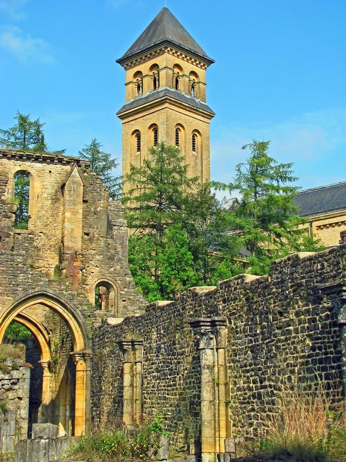 Abbaye d'Orval (Belgique) image libre de droits