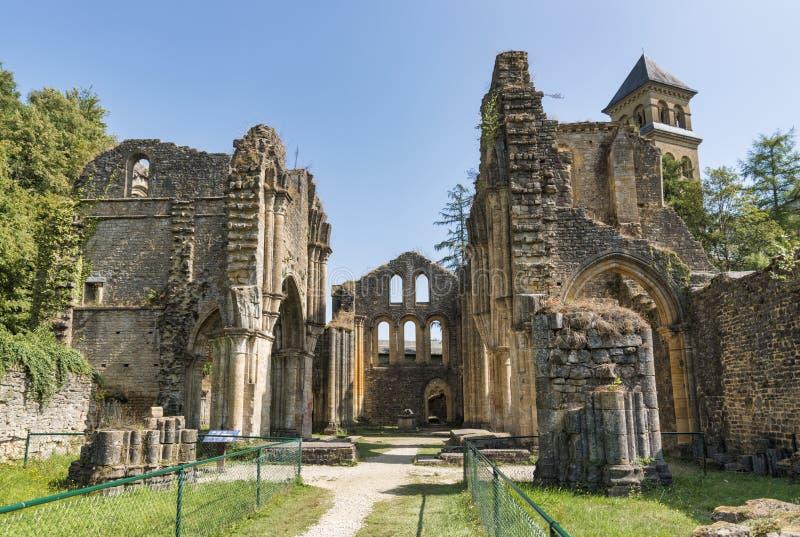 Abbaye d'Orval en Belgique Ardennes photographie stock libre de droits