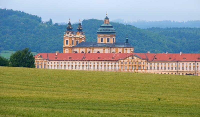 Abbaye dans Melk images stock