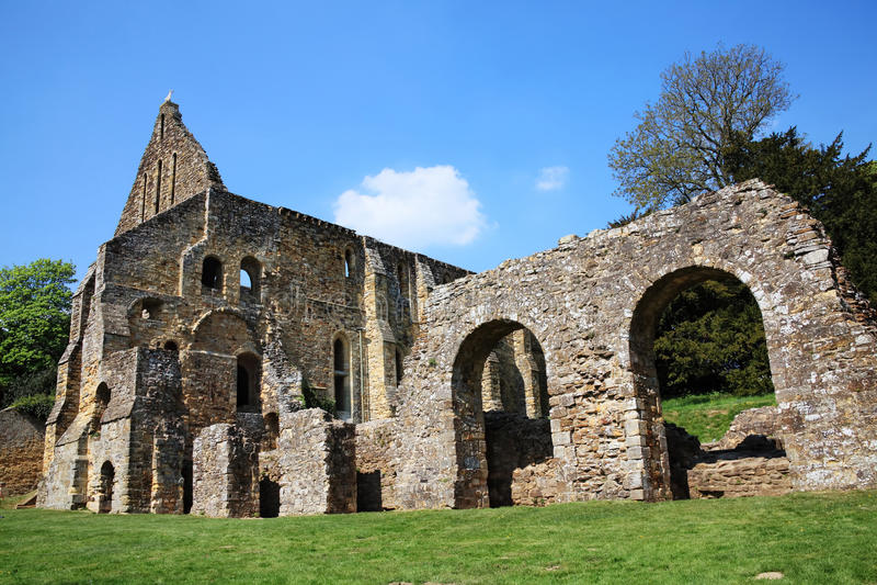 Abbaye de bataille photos libres de droits