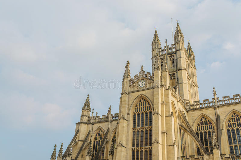 Abbaye de Bath à Bath, Royaume-Uni images libres de droits