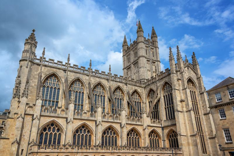 Abbaye de Bath, Somerset United Kingdom photo stock