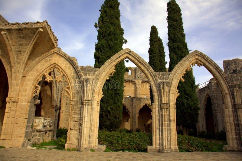 Abbaye de Bellapais photo libre de droits