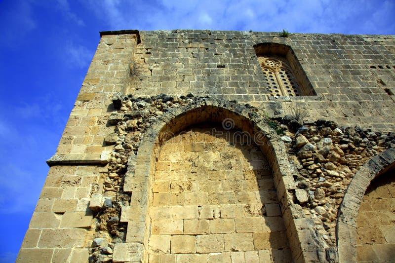 Abbaye de Bellapais photographie stock libre de droits