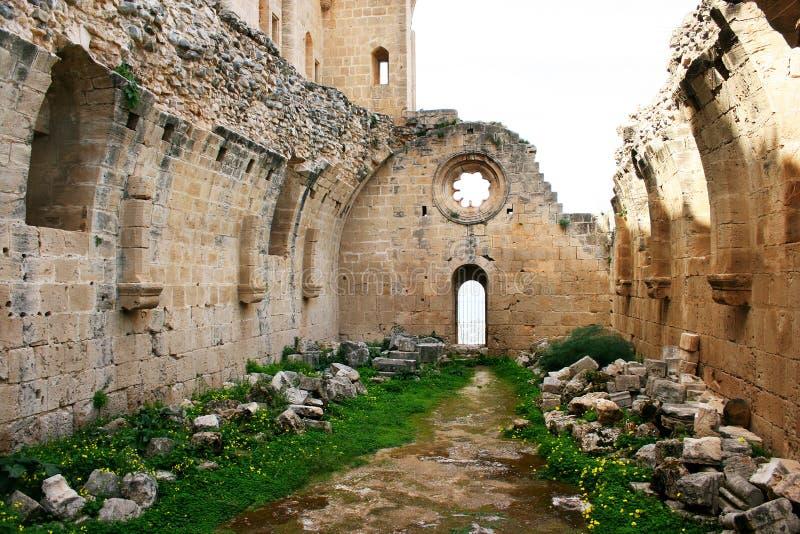 Abbaye de Bellapais photo stock