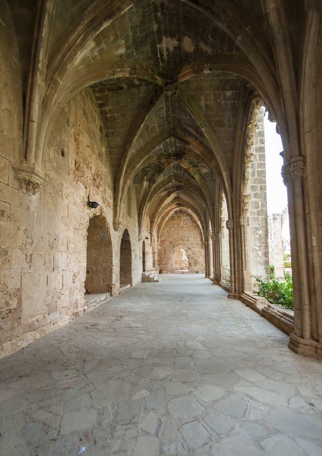 Abbaye de Bellapais, Chypre photographie stock