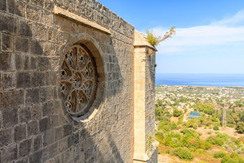 Abbaye de Bellapais, Chypre du nord photo libre de droits