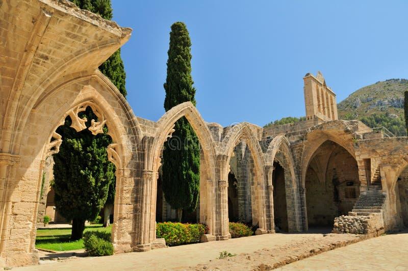 Abbaye de Bellapais, Kyrenia image stock